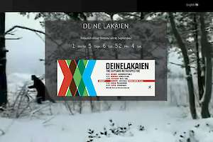 New Deine Lakaien Website on 16 September