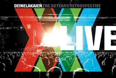 Deine Lakaien – THE 30 YEARS RETROSPECTIVE LIVE DVD